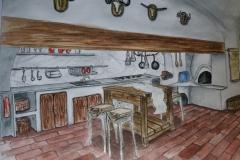 konyha látványterv